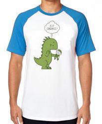Camiseta Raglan Humano Orgânico