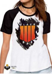 Blusa Feminina Call of Duty Black Ops