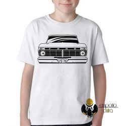 Camiseta Infantil Camioneta Ford antiga