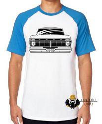 Camiseta Raglan Camioneta Ford antiga