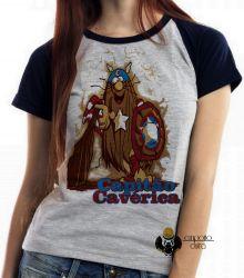 Blusa Feminina Capitão Cavérica