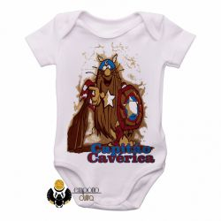 Roupa  Bebê  Capitão Cavérica