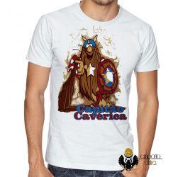 Camiseta  Capitão Cavérica