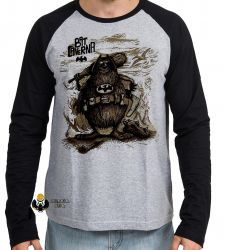 Camiseta Manga Longa  Capitão Bat Caverna