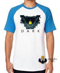 Camiseta Raglan  Dark Caverna