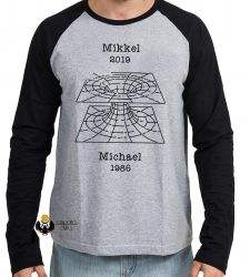 Camiseta Manga Longa   Dark Mikkel Michael