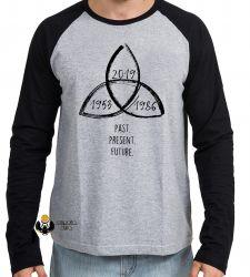 Camiseta Manga Longa   Dark Triquetra