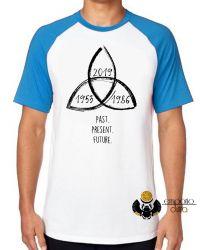 Camiseta Raglan  Dark Triquetra