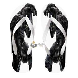 Chinelo pantera negra