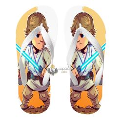 Chinelo Star Wars Luke Skywalker jedi