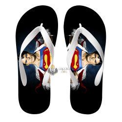 Chinelo Superman Clark Kent