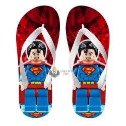 Chinelo Superman Lego