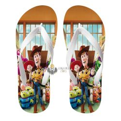 Chinelo Toy Story personagens