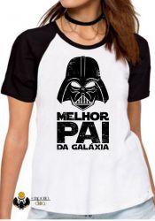 Blusa Feminina Darth Vader  melhor pai