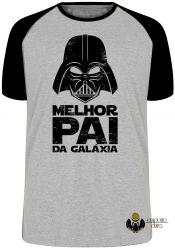 Camiseta Raglan Darth Vader melhor pai