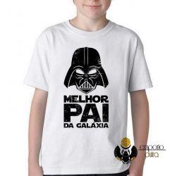 Camiseta Infantil  Darth Vader melhor pai