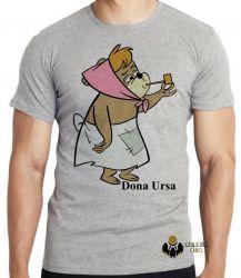 Camiseta  Hanna Barbera Dona Ursa