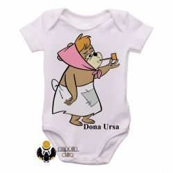 Roupa  Bebê Hanna Barbera Dona Ursa