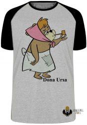 Camiseta Raglan Hanna Barbera Dona Ursa