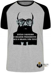 Camiseta Raglan Enéas Carneiro direita Brasil