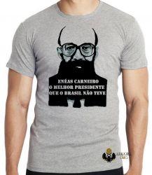 Camiseta Infantil  Enéas Carneiro direita Brasil