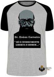 Camiseta Raglan Enéas Carneiro direita conhecimento