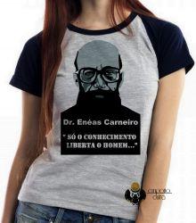 Blusa Feminina Enéas Carneiro direita  conhecimento