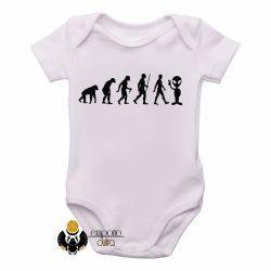 Roupa Bebê Evolução Alien