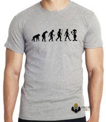 Camiseta Infantil Evolução Alien