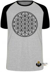 Camiseta Raglan Geometria Sagrada