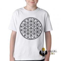 Camiseta Infantil Geometria Sagrada