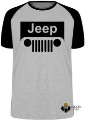Camiseta Raglan Jeep off road