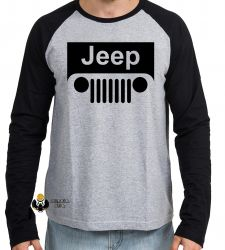 Camiseta Manga Longa Jeep off road