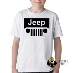 Camiseta Infantil Jeep off road