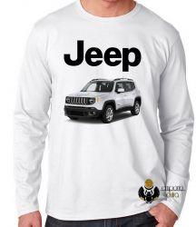 Camiseta Manga Longa Jeep renegade