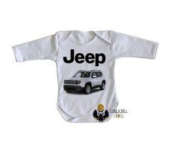 Roupa Bebê manga longa Jeep renegade
