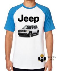 Camiseta Raglan Jeep renegade