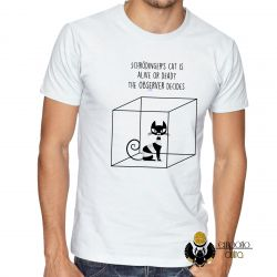 Camiseta Gato de Schrödinger