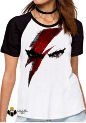 Blusa Feminina  God of War Kratos