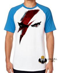 Camiseta Raglan God of War Kratos
