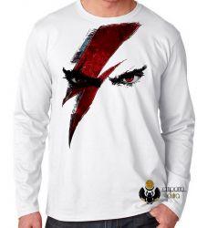Camiseta Manga Longa God of War Kratos