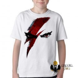 Camiseta Infantil  God of War Kratos
