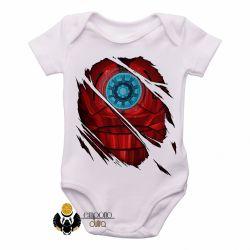 Roupa  Bebê  Homem de Ferro  reator armadura