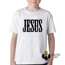 Camiseta Infantil Jesus Cristo Senhor