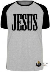 Camiseta Raglan Jesus Cristo Senhor