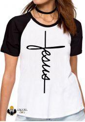 Blusa Feminina Jesus Cristo crucifixo