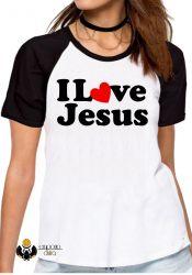 Blusa Feminina  Love Jesus