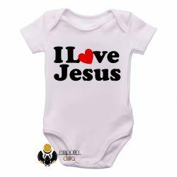 Roupa Bebê Love Jesus