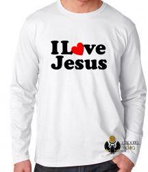 Camiseta Manga Longa Love Jesus