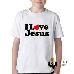 Camiseta Infantil Love Jesus